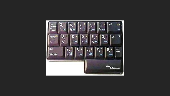Клавиатура для одной руки
