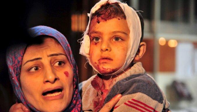 Sīrijas konfliktā bojāgājušo skaits pārsniedzis 270 000, uzskata aktīvisti