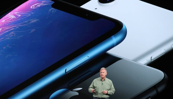 Акции Apple отреагировали падением на презентацию новых iPhone