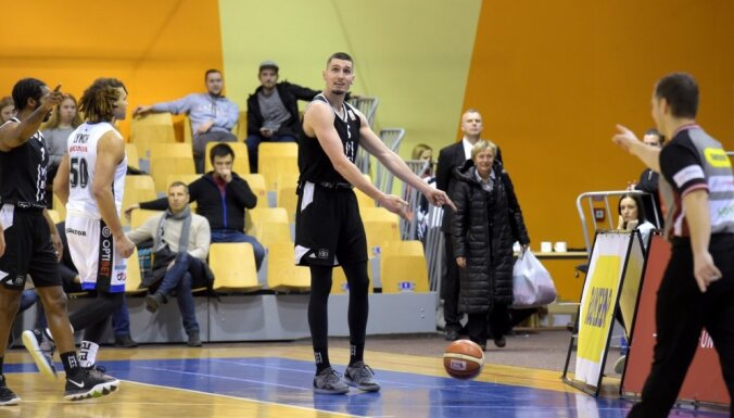 'VEF Rīga' salauž 'Avis Utilitas' pretestību un svin uzvaru apvienotā čempionāta spēlē