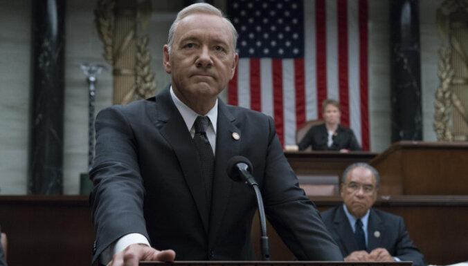 'Netflix' paziņo par seriāla 'Kāršu nams' beigām