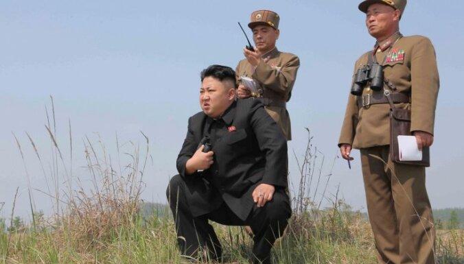 Jaunās ANO sankcijas ir kara akts, pauž Ziemeļkoreja