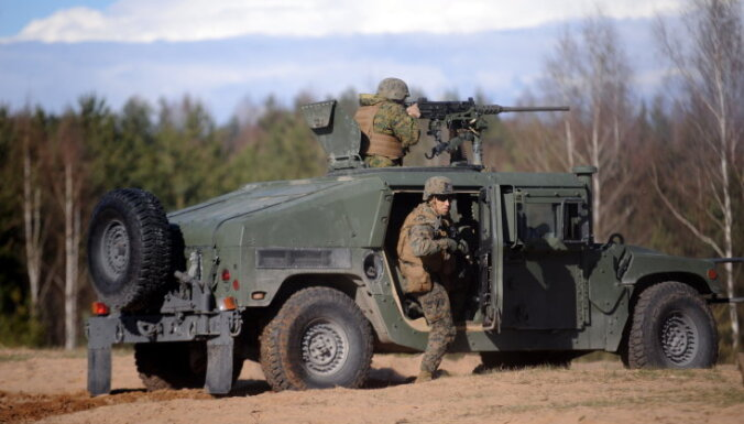 Латвийские военные могут принять участие в учениях армии США на Украине