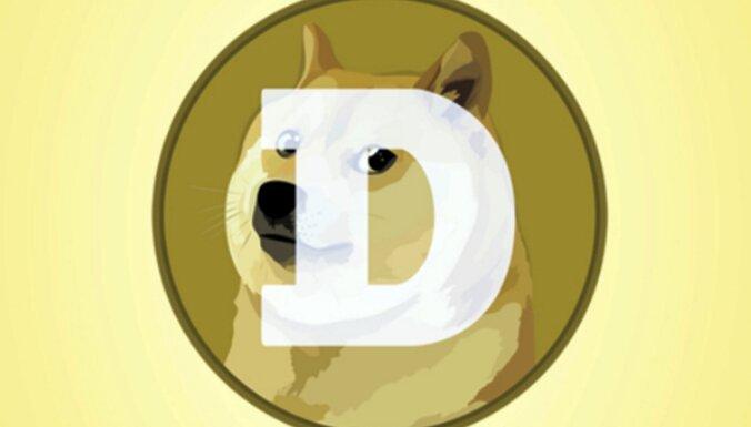 Investoru uzmanības centrā - joku kriptovalūta 'Dogecoin'