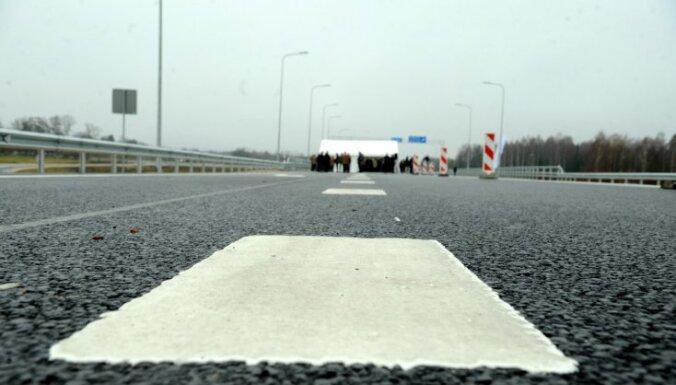 На дороге Тинужи — Кокнесе грузовик врезался в мост