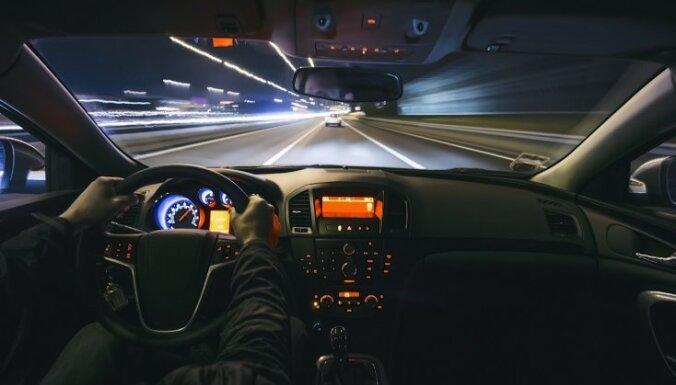 Starptautiskā satiksmes drošības reidā Lietuvā aizturēts daudzkārtējs ātruma pārsniedzējs no Latvijas