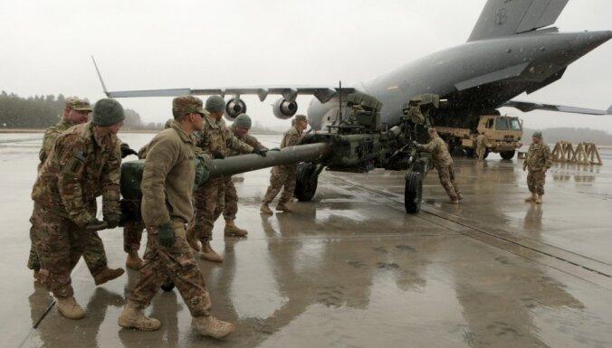 NATO mērķis ir nepieļaut kādas dalībvalsts suverenitātes aizskārumu, atklājot mācības Ādažos teic ģenerālis
