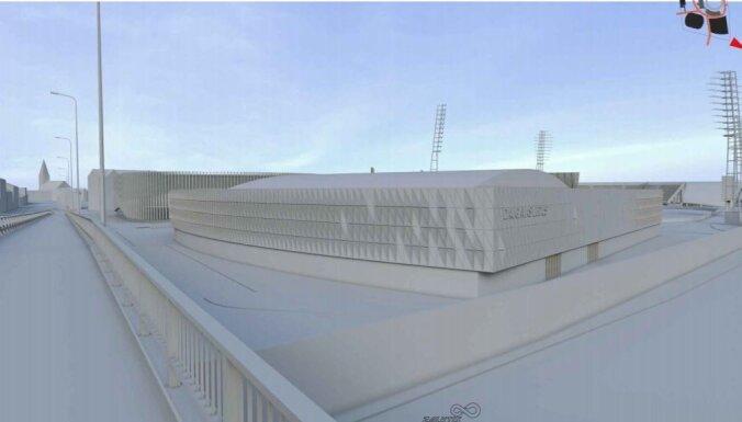 Daugavas stadiona ledus halles būvniecība izmaksās 10,32 miljonus eiro