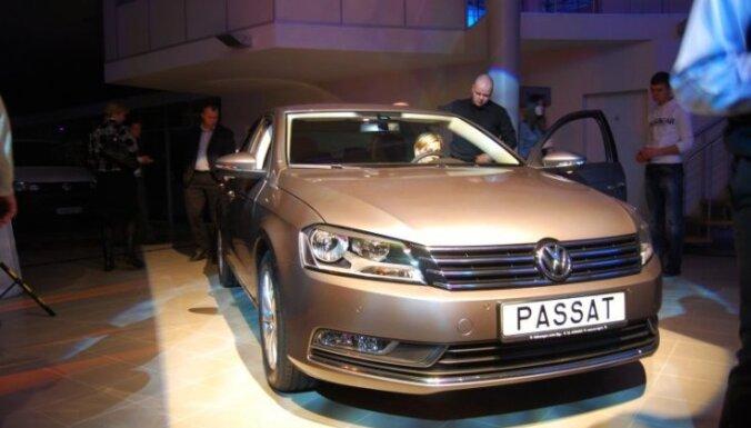 Latvijā prezentēts jaunais 'VW Passat' modelis