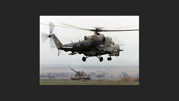 Вертолет пошел на поиск