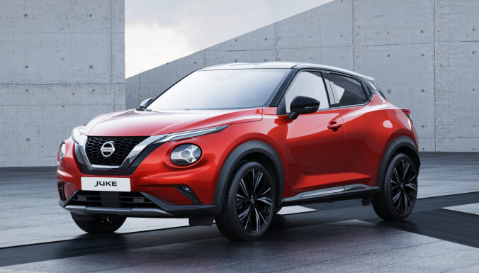 Jaunais 'Nissan Juke' kļuvis lielāks un vieglāks