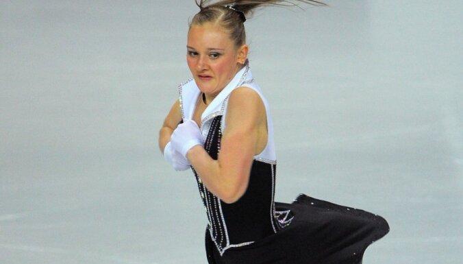 Личный рекорд не позволил латвийской фигуристке пробиться в финал ЧЕ