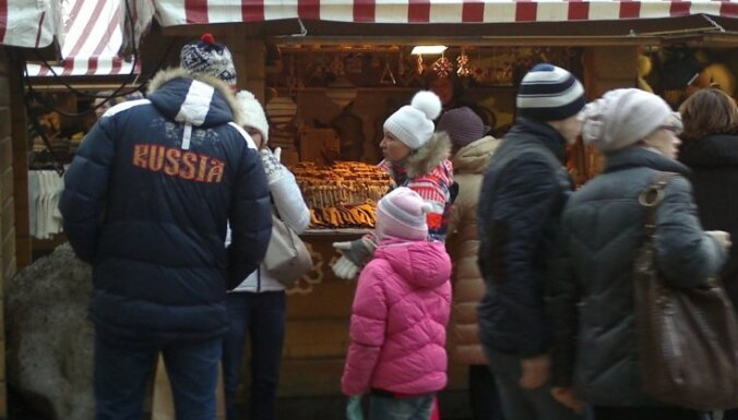 Jaunais gads bez kaviāra: krievu tūristi aizplūst no Baltijas