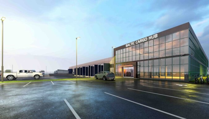 "ФОТО: airBaltic построит в аэропорту ""Рига"" центр обработки грузов"