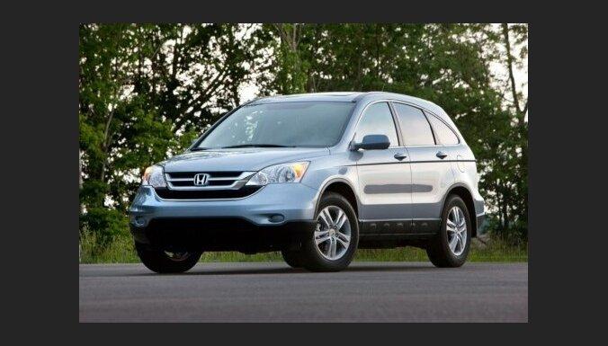 Угонщики предпочитают машины марки Honda CRV