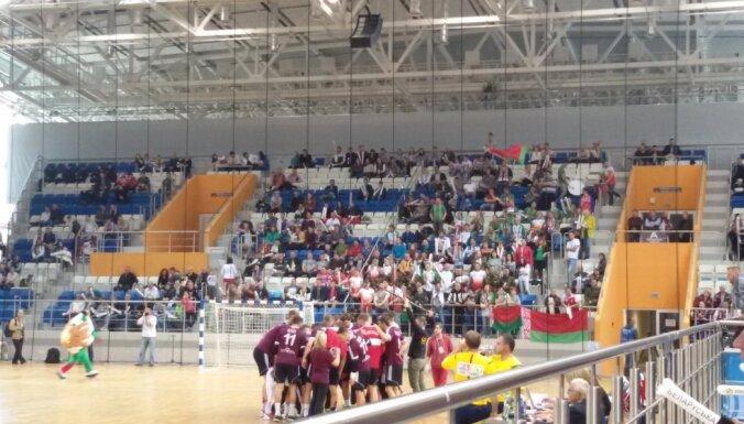 Latvija - Baltkrievija, handbols