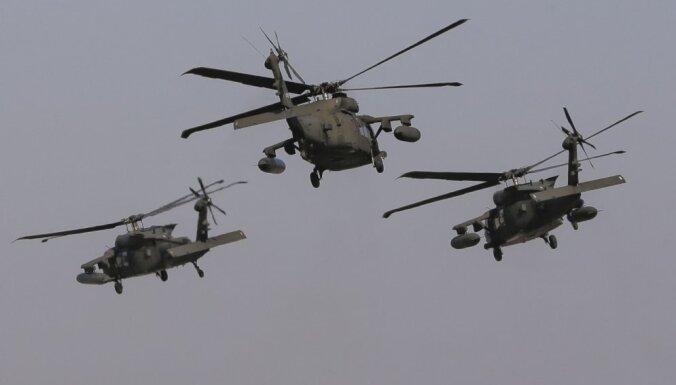 США эвакуируют главарей ИГ на своих вертолетах, утверждает сирийское агентство