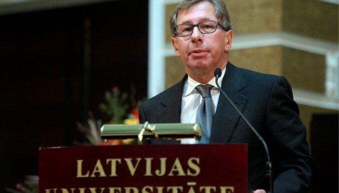 ФОТО: российский миллиардер стал Почетным доктором Латвийского университета