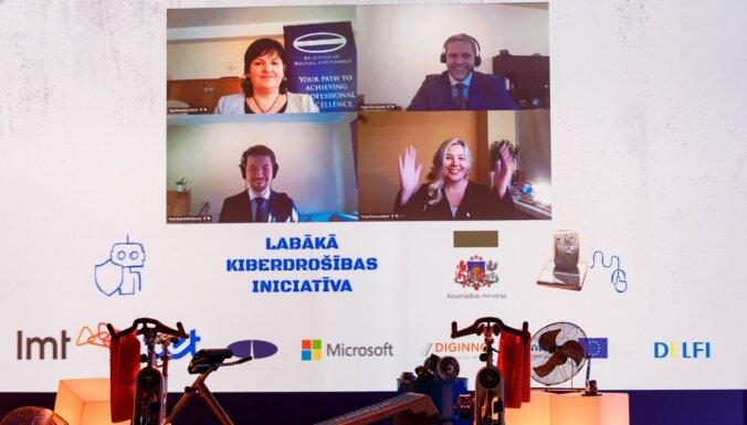 Foto: Piešķirtas IKT nozares balvas 'Platīna pele 2020'