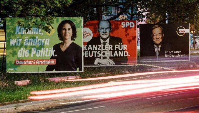 Предварительные итоги: на выборах в ФРГ вперед выходят социал-демократы