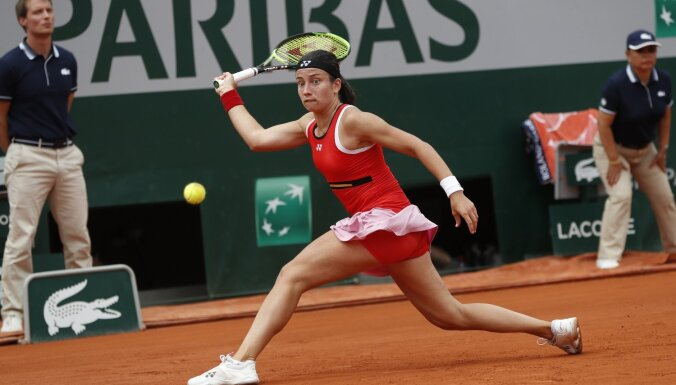Sevastova piekāpjas Breidijai un arī noslēdz 'French Open'