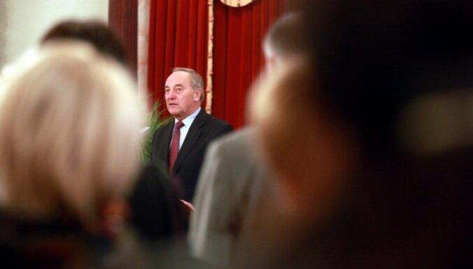 Prezidents Bērziņš: Kultūra ir Latvijas valsts pamatā