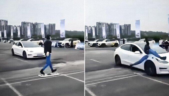 ВИДЕО: Tesla Model 3 не прошла тест на экстренное торможение