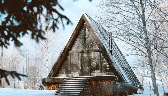 Fantastiski namiņi Latvijā, kuros atpūsties no ikdienas kņadas