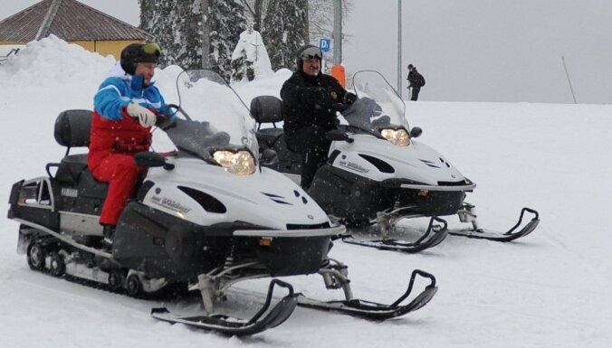 ФОТО: Путин и Лукашенко на встрече в Сочи наслаждаются зимними радостями