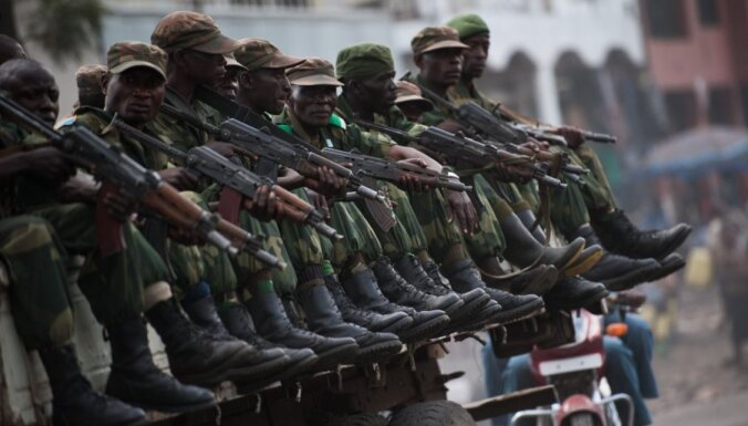 Kongo DR armija atgriežas Gomā