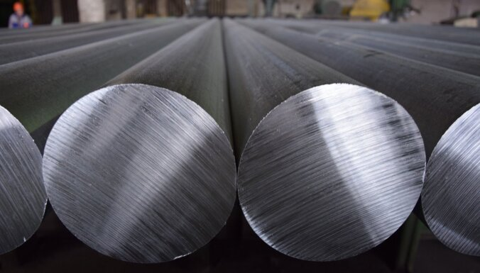 Alumīnija cena sasniegusi 13 gados augstāko līmeni