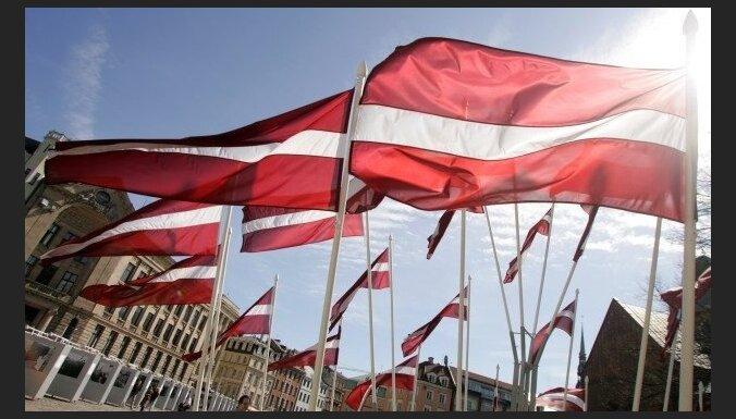В День Лачплесиса зафиксировано несколько ЧП с государственным флагом