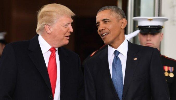Обама сравнил США при Трампе с гитлеровской Германией