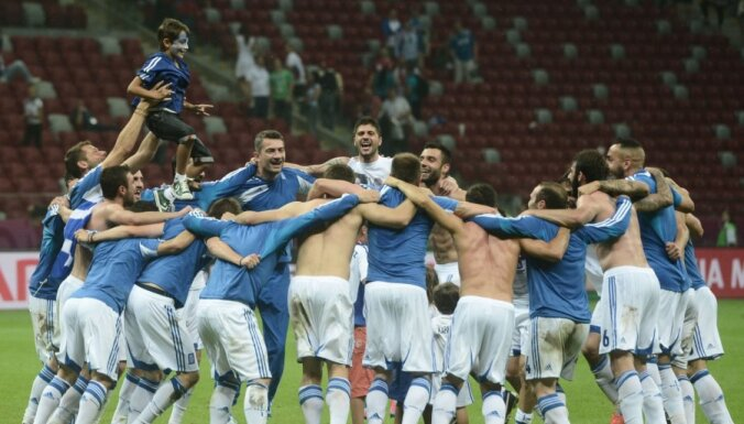 Чехия и Греция — первые четвертьфиналисты ЕВРО-2012