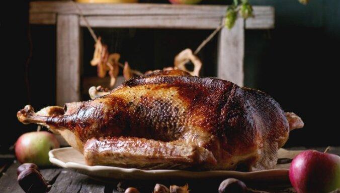 Как вкусно запечь гуся: разные начинки и способы приготовления этой рождественской птицы