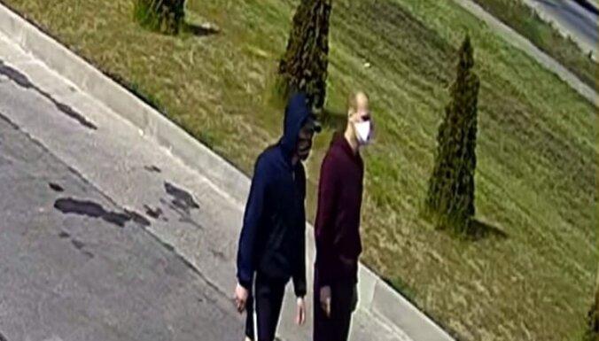 Policija lūdz palīdzību iespējamo noziedznieku meklēšanā