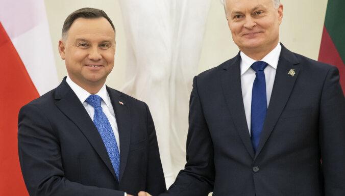 Польша и Литва не разделяют критику НАТО Францией