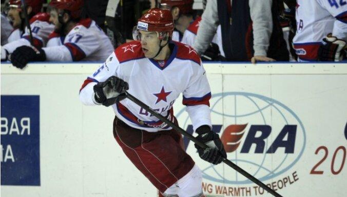 Sprukts ar CSKA un Maskavas 'Dinamo' kā pirmie iekļūst Gagarina kausa ceturtdaļfinālā