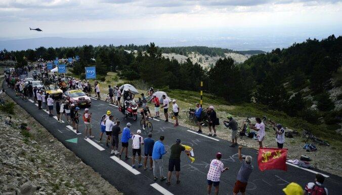 Van Ārts 'Tour de France' uzvar ikoniskajā Monventū posmā; Skujiņam 127.vieta