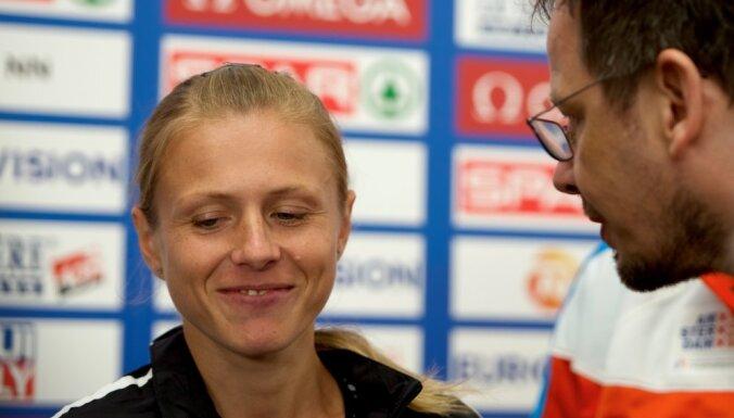 Russian sprinter Yulia Stepanova, ARD journalist Hajo Seppelt