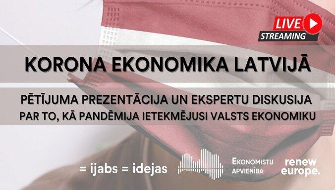 Koronanomika Latvijā: gūtā pieredze un ko darīt tālāk