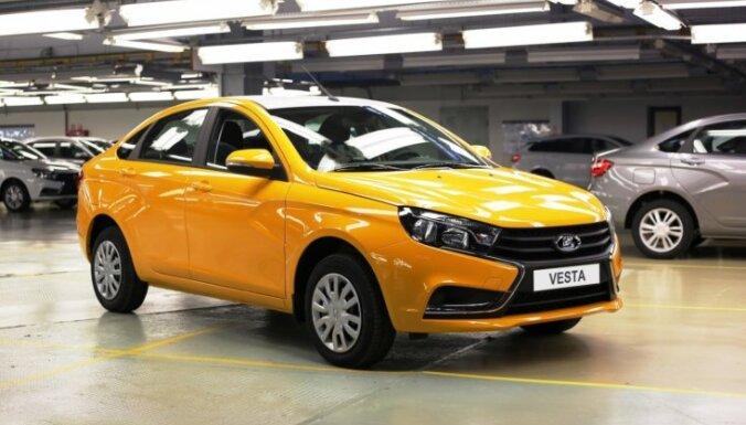 Krievu auto marka 'Lada' pamet Eiropas tirgu