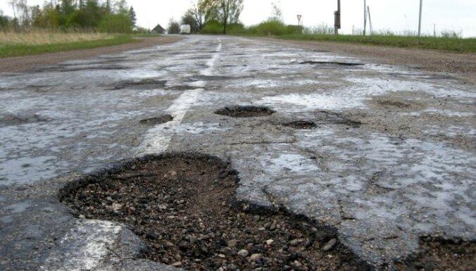 Ceļu kvalitātes topā Latvija ir 99.vietā no 144