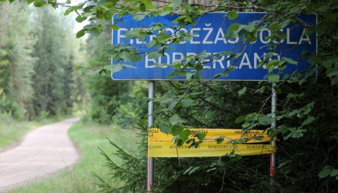 В четверг предотвращено 12 попыток незаконного пересечения латвийско-белорусской границы