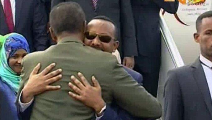 Etiopija un Eritreja vienojas normalizēt attiecības