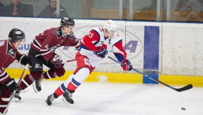 'Rīga' hokejisti MHL čempionātā piedzīvo ceturto zaudējumu pēc kārtas