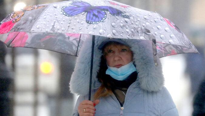 В понедельник ожидаются сильный ветер, дождь и мокрый снег