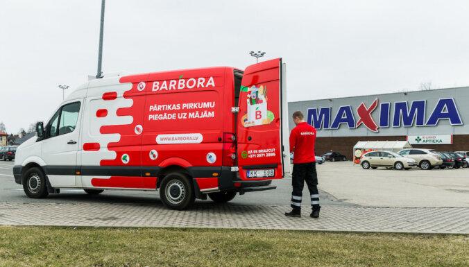 Barbora.lv откроет пункты получения продуктов по всей Латвии