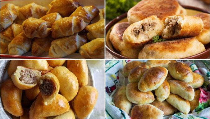 Pīrādziņi uz ātru roku: 7 elementāras receptes ikdienai un svētkiem