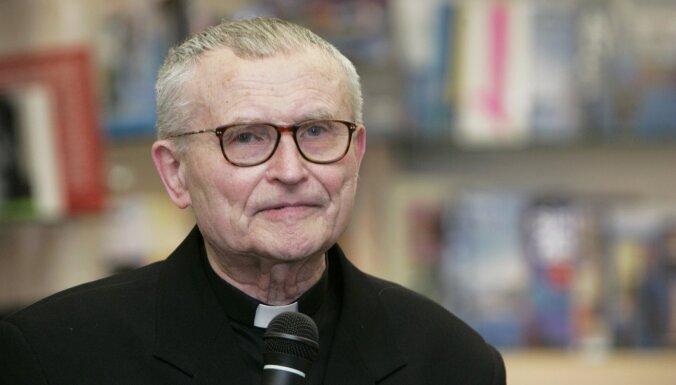Rīgas Sāpju Dievmātes Romas katoļu baznīcā atzīmēs kardināla Pujata 90. dzimšanas dienu